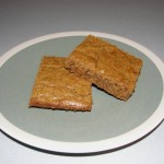 Butterscotch Bars – healthier version