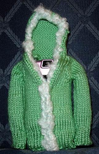 Cell phone hoodie
